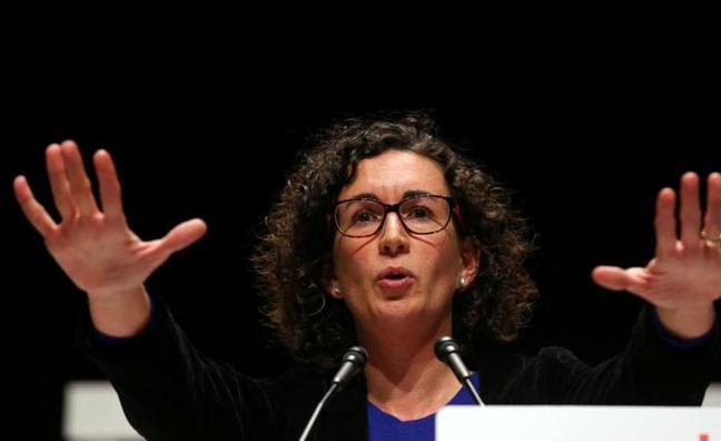 Primer mensaje de Marta Rovira desde Suiza: «No desfalleceremos»