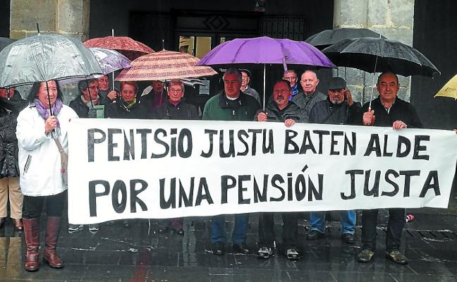 Duintasuna pide que se mantenga el poder adquisitivo de las pensiones