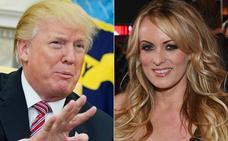 Trump niega «clara y rotundamente» haber tenido una relación con la actriz porno Stormy Daniels