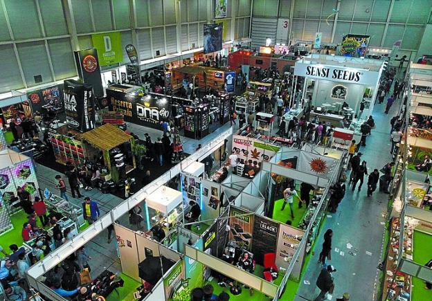 Ficoba registró 17.000 visitas en los tres días de Expogrow'17. /  F. DE LAHERA
