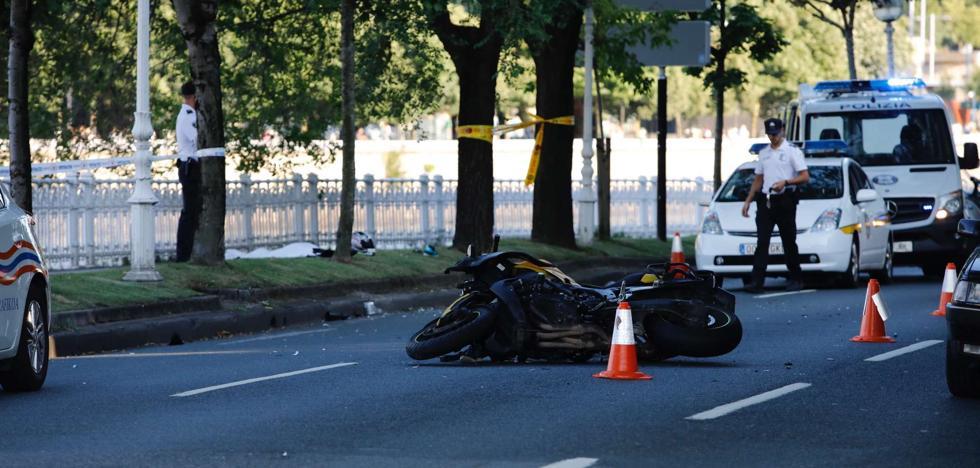 Los accidentes de tráfico aumentan un 1,8% en Donostia
