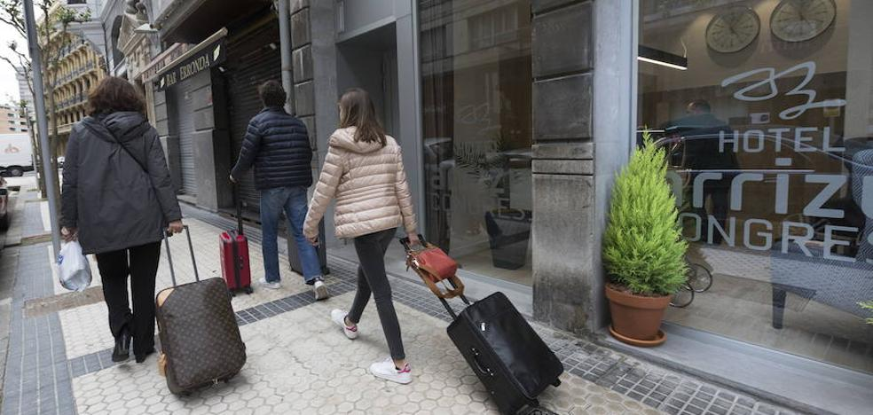 Los hoteles de Gipuzkoa prevén un descenso en la ocupación respecto al año pasado