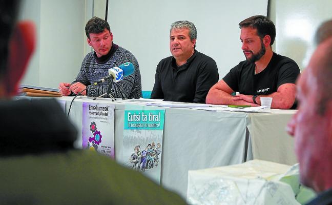 La constructora de la obra parada del TAV rescinde los contratos de sus trabajadores