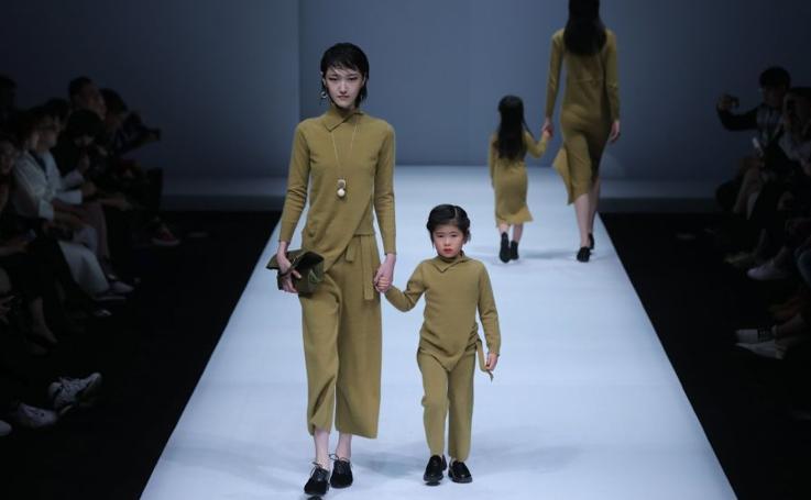 Sobriedad en la Semana de la Moda de China