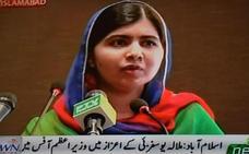 Malala regresa a Pakistán seis años después del atentado talibán
