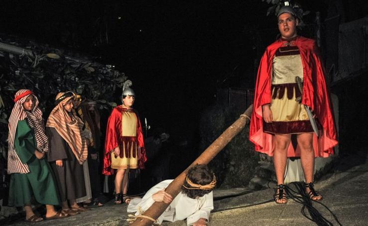 La Pasión de Cristo, en Amara Viejo
