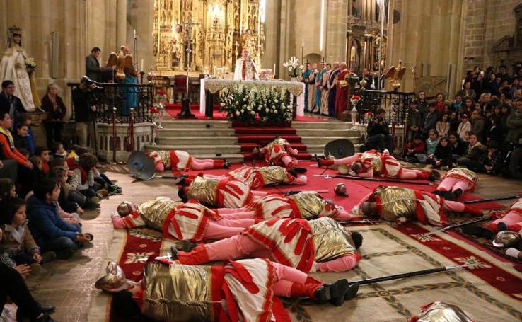 Caída de los romanos en Hondarribia