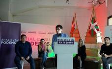Podemos afirma que la «política agotada» del PNV «no cabe en la alternativa que necesita Euskadi»