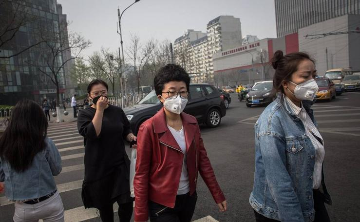 En Pekin casi no se puede respirar