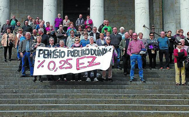 Nueva movilización de los pensionistas