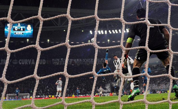 Las mejores imágenes del Juventus 0- 3 Real Madrid