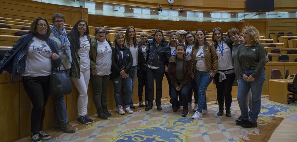 Las reivindicaciones de las 'Kellys' llegan a La Moncloa