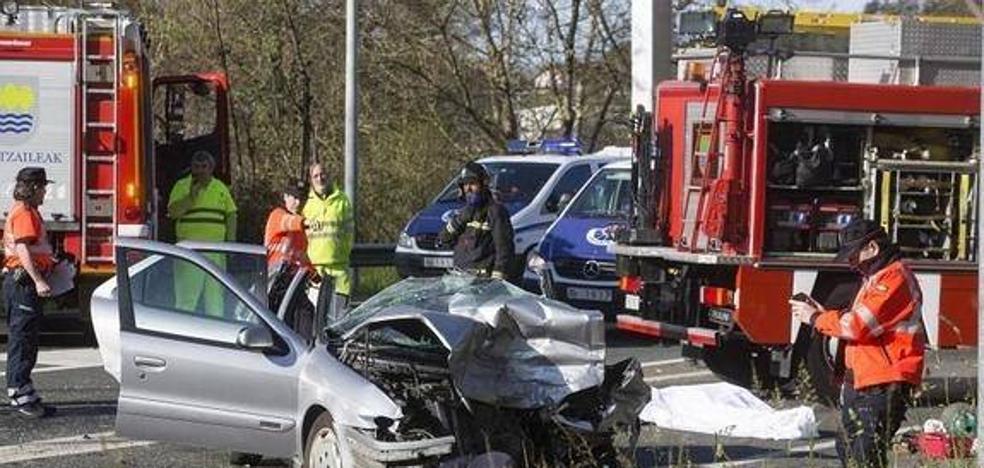 Las carreteras de Gipuzkoa registran más accidentes pero menos víctimas hasta marzo
