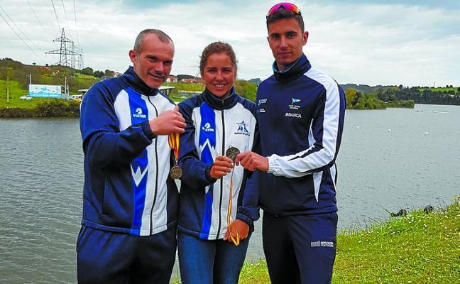Cinco medallas para Gipuzkoa en la Copa de Esprint Olímpico