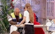 El accidente de Alicia en 'Maestros de la costura' que obligó a intervenir al médico