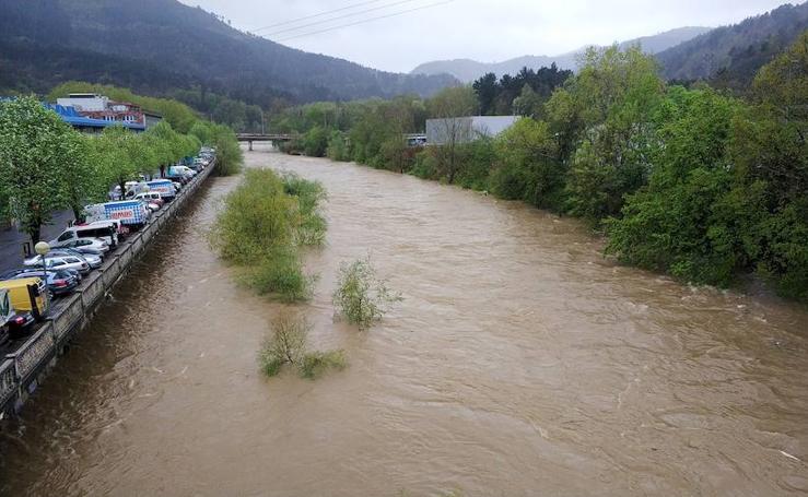 Gipuzkoa, pendiente de sus ríos