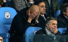 Guardiola, expedientado por la UEFA tras otra eliminación de Champions
