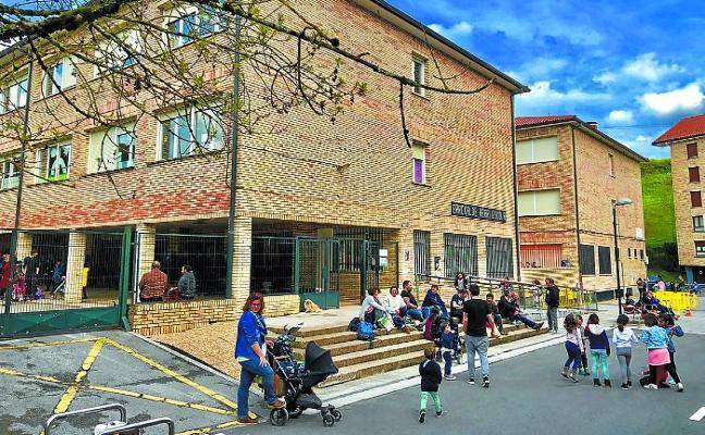 Educación financiará con 236.855 euros las obras de Urgain Errekalde