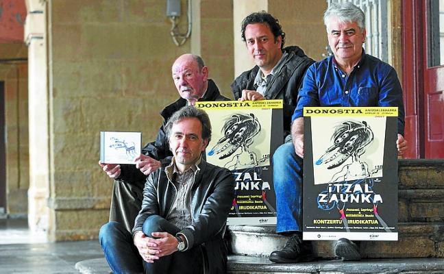 'Itzal Zaunka', un concierto con imágenes hoy en el Topic
