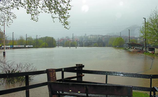 Las instalaciones deportivas, las más perjudicadas por la lluvia