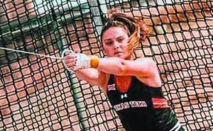 Dorleta Armendariz logra en USA el récord de Euskadi absoluto de lanzamiento de martillo