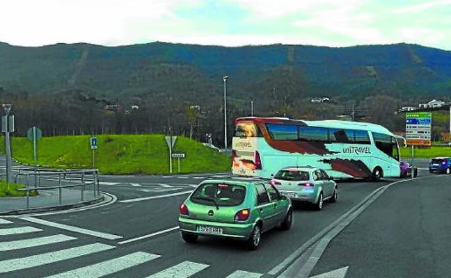 Los ayuntamientos de Irun y Hondarribia mejoran los accesos a Txingudi Ikastola
