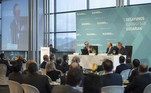 El presidente de Kutxabank sobre los PGE: «Me encantaría que se mantuviese la situación de estabilidad»