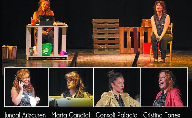 El grupo de teatro 'Les Figuretes' llega mañana a Sarobe con 'La Caja Mágica'