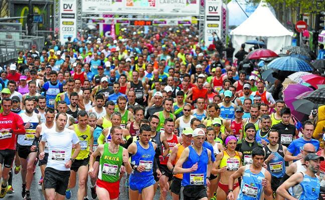 Favoritismo marroquí en la media maratón de mañana en Donostia