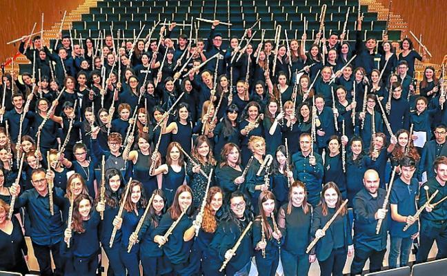 Concierto de flauta travesera, mañana en el auditorio