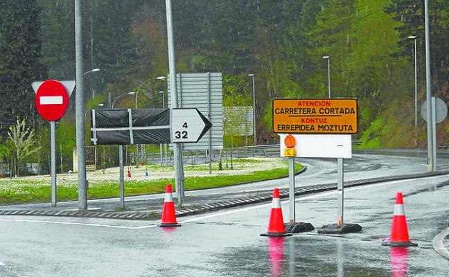Se aceleran e intensifican los trabajos de reparación de la carretera GI-627