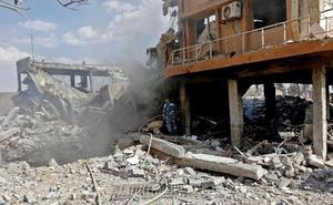 Trump se vanagloria del éxito militar en Siria