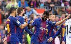El Barça no cura su herida europea, pero aprende a vivir con ella