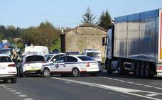 Fallece una vecina de Eibar al ser atropellada por un camión en Amorebieta