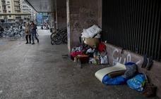 Euskadi reserva cien pisos públicos para personas que duermen en la calle