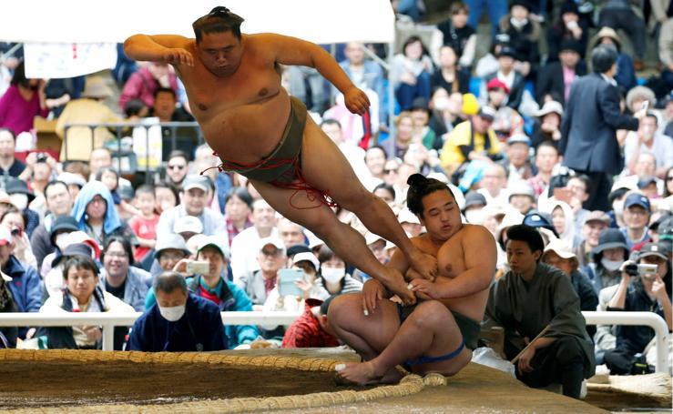 Sumo, deporte nacional de Japón