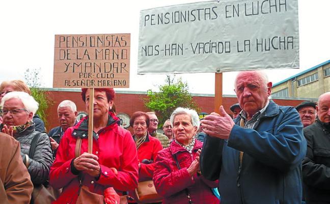 Los mayores de Pasaia se unen a las protestas