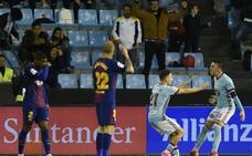 Un Barça irreconocible salva la honra