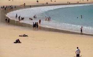 Gipuzkoa gana a Canarias en calor gracias al 'veranillo'