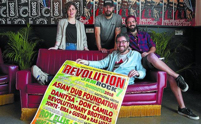 Asian Dub Foundation abrirá el viernes el Revolution JamRock