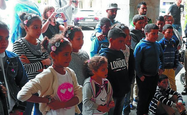 «Este año solo tenemos tres familias de acogida para los niños saharauis»