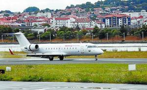 Hondarribia pierde los vuelos a Londres y Palma