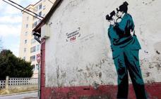 ¿Un Banksy en Ferrol?