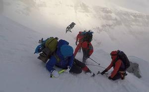 Gaztañazpi eta Txikon, bi egunetako espedizioan Perdidora, 'Gailurra Xtreme' saioan