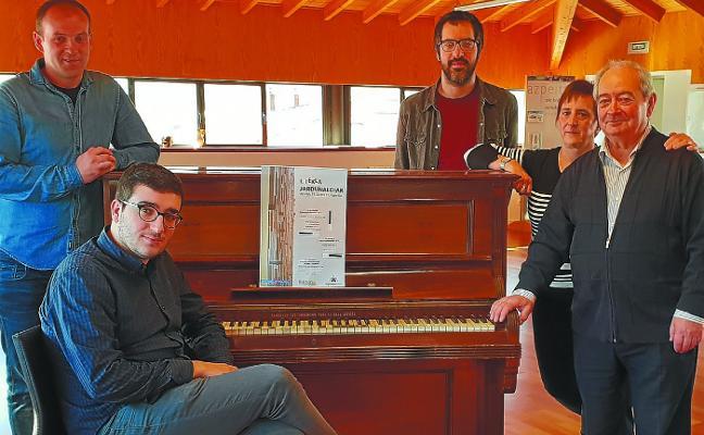 Estreinakoz pianoaren eta organoaren jardunaldiak antolatu dira Azpeitian