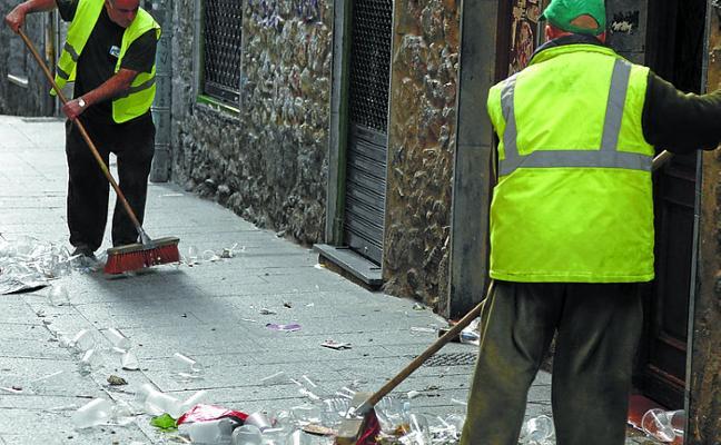Garbitania se encargará desde el 9 de mayo de la limpieza de las calles