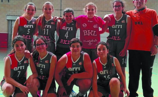 El BKL Izal infantil femenino encadena cinco victorias