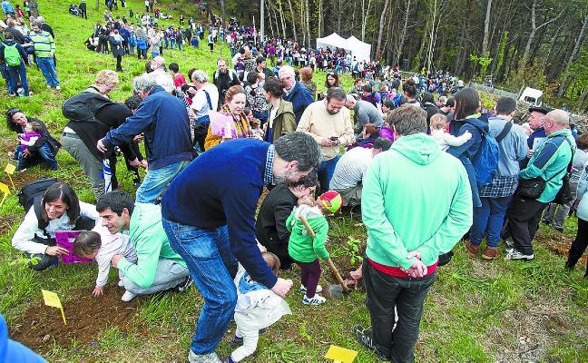 El sábado se celebra el Zuhaitz Eguna