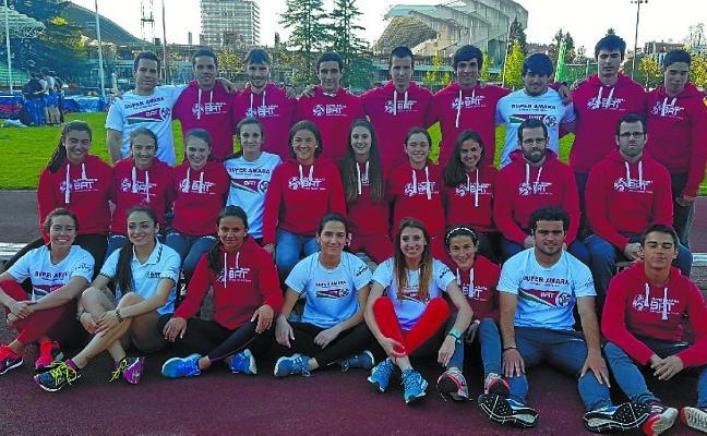 El Super Amara-BAT fue dos veces segundo en el Campeonato de Euskadi