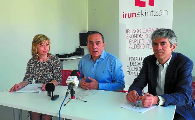 Irun Ekintzan apoyó en 2017 el despegue de 33 empresas y promovió 119 contratos